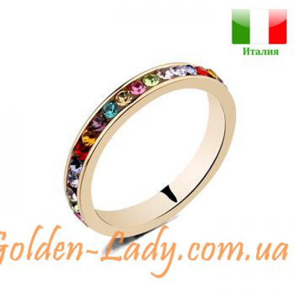 "Кольцо с австрийскими кристаллами ""Federica Moro"""