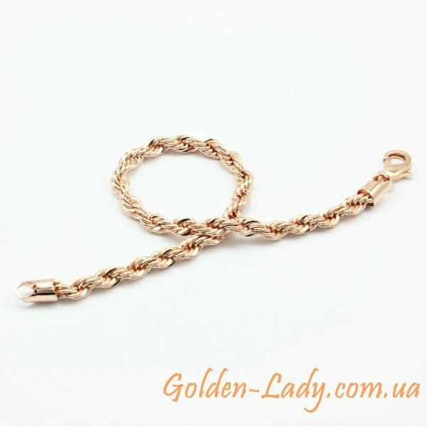 симпатичный браслет для блондинки