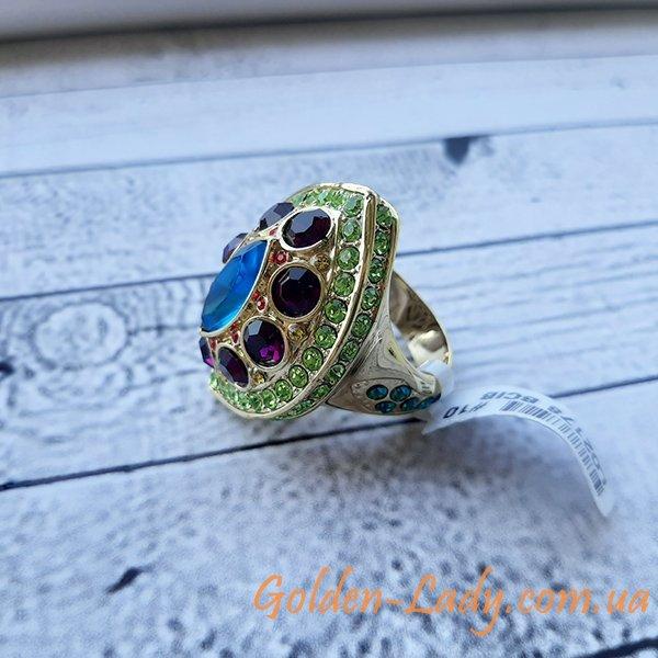 громадное кольцо с камнями