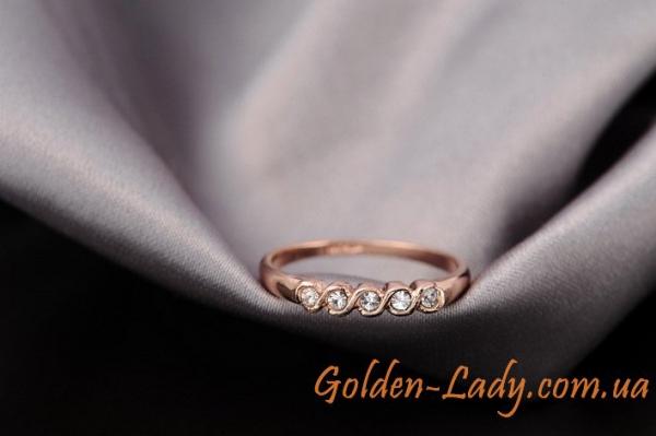 "Классическое кольцо ""Silvia"""