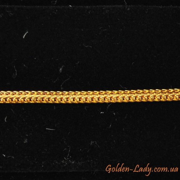 золотая цепочка упругого типа для женщин