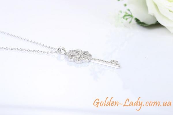 Серебряный ключик Tiffany