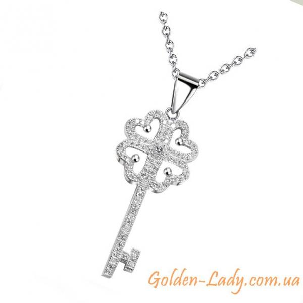 """Кулон """"Ключ Tiffany III"""""""
