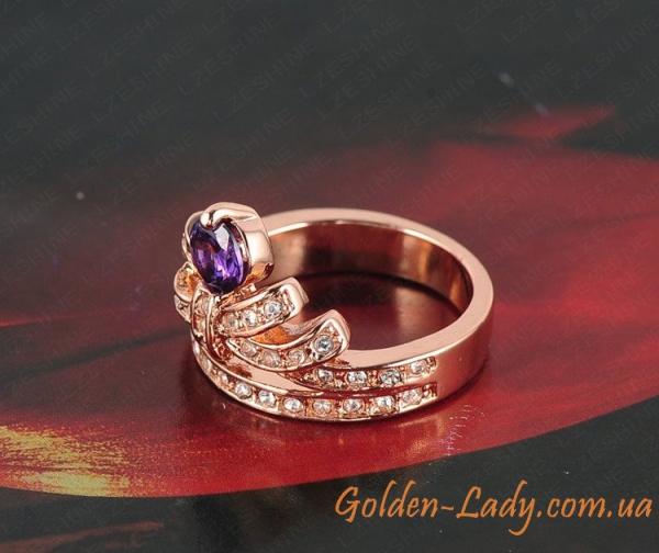 """Кольцо в форме короны """"Мария"""""""