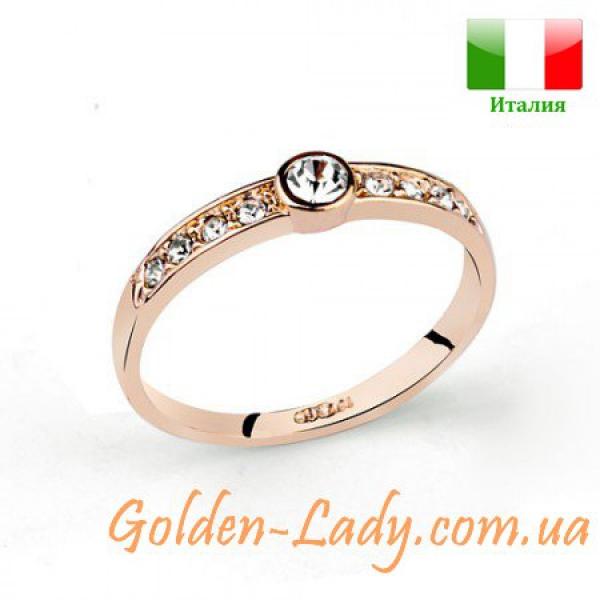 Кольцо Francesca Neri с белыми камнями
