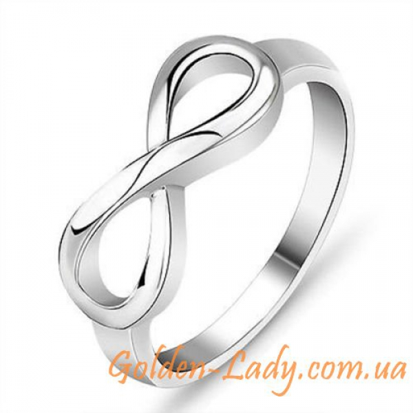 серебряное кольцо вечность