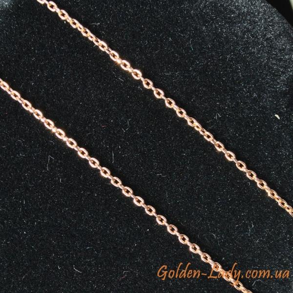цепочка с якорным плетением (якорная), золото 585 в Украине