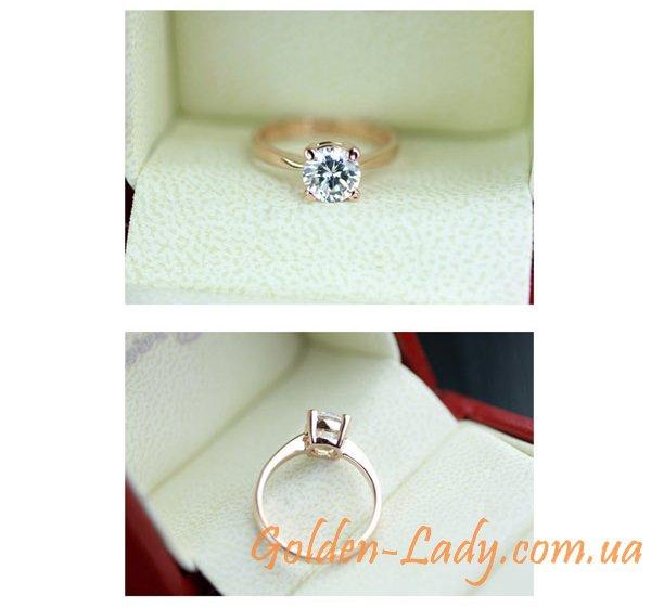 кольцо с кристаллами автрия