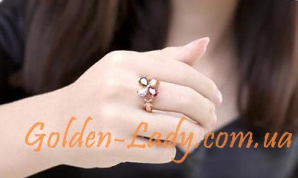 """Кольцо """"Цветок счастья"""""""