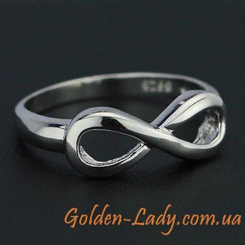 купить кольцо женское со знаком бесконечности