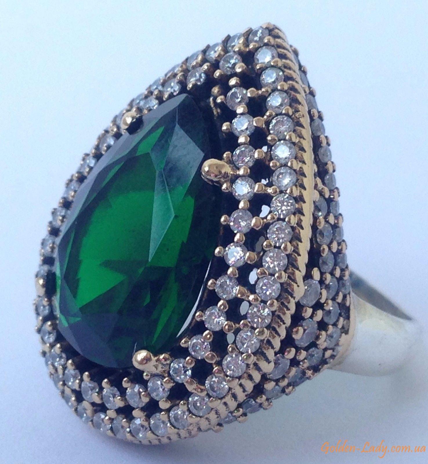 0c6b561354da Купить кольцо Хюррем Султан из серебра 925 в Украине