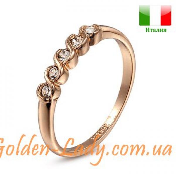 Классическое позолоченное кольцо (Италия)
