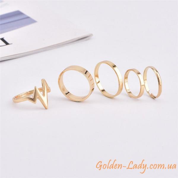 фаланговые кольца с молнией