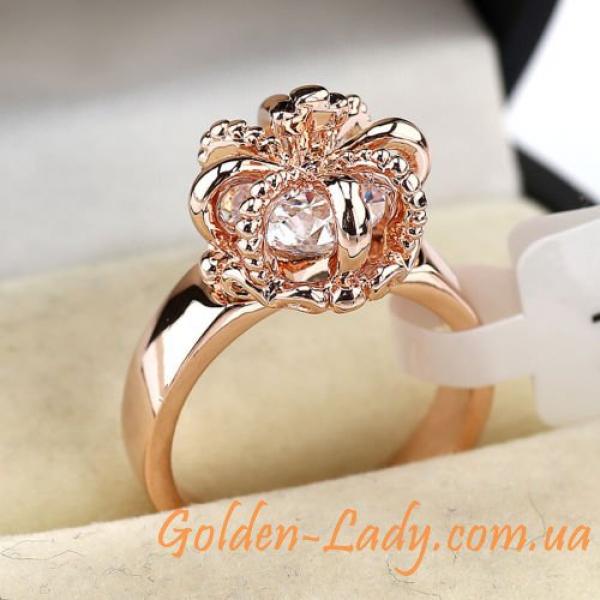 Кольцо в форме царской короны