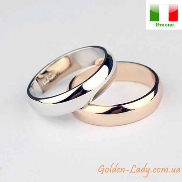 Итальянские обручальные кольца