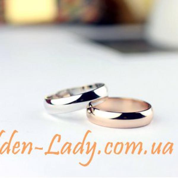 классическое обручальное кольцо