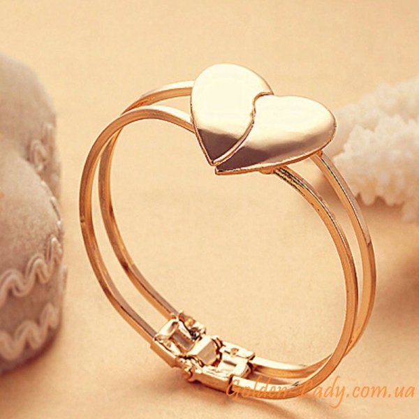 "Браслет с сердечком ""Love heart"""