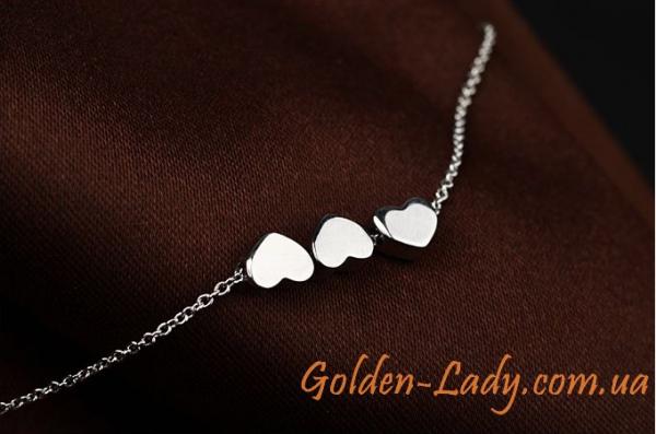 Браслет Silver Hearts