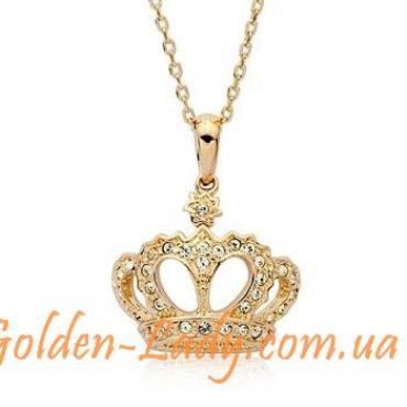 "Кулон в форме короны ""Queen"""