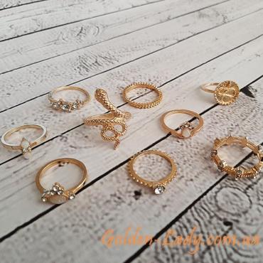 кольца со змеями