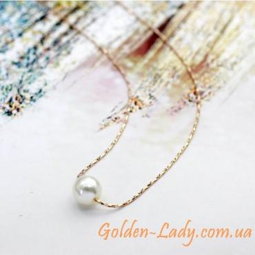 кулон с жемчужиной золото 750