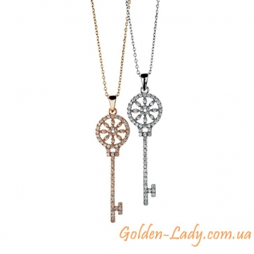 "Кулон ""Ключик Tiffany"", 2 цвета"