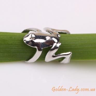 красивая клипса на ухо Frog