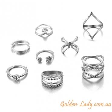 кольца миди незамкнутые