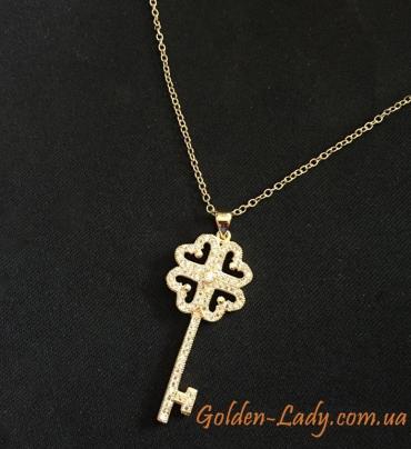 "Кулон ""Ключ Tiffany III"", 2 цвета"