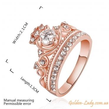 """Кольцо-корона """"Luxury"""""""