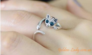 кольцо кошка вокруг пальца