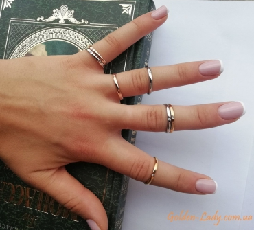 Набор колечек на фалангу пальца