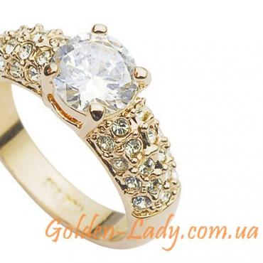 "Кольцо с кристаллами Swarovski ""Merlini Luxury"""