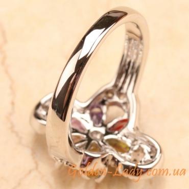 Белое золотое кольцо