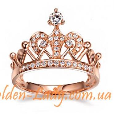 """Кольцо в форме короны """"Джозефина"""""""