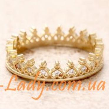 """Кольцо в виде короны """"Delicious Gold"""""""