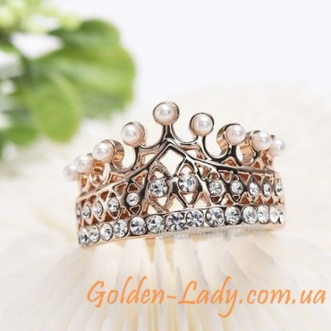 """Кольцо в форме короны """"Динара"""""""