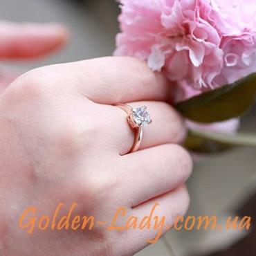 Классическое кольцо с австрийским кристаллом