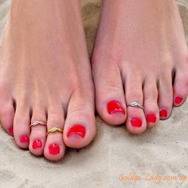 Кольцо на палец ноги Infinity Rose