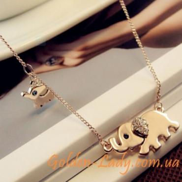 "Кулон в форме слона ""Elephant"""