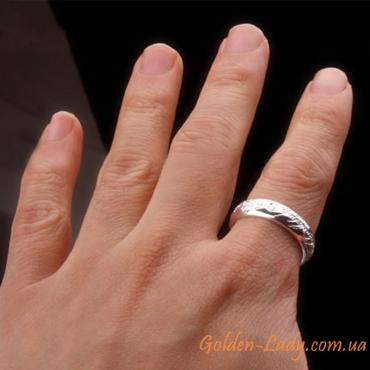 Серебряное кольцо Всевластья