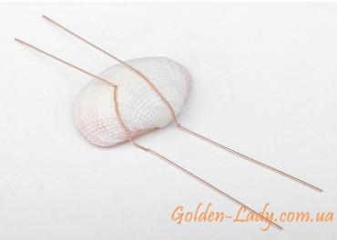 сережки протяжки через уши Тамилла