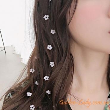 Цепь на волосы с цветками Flower
