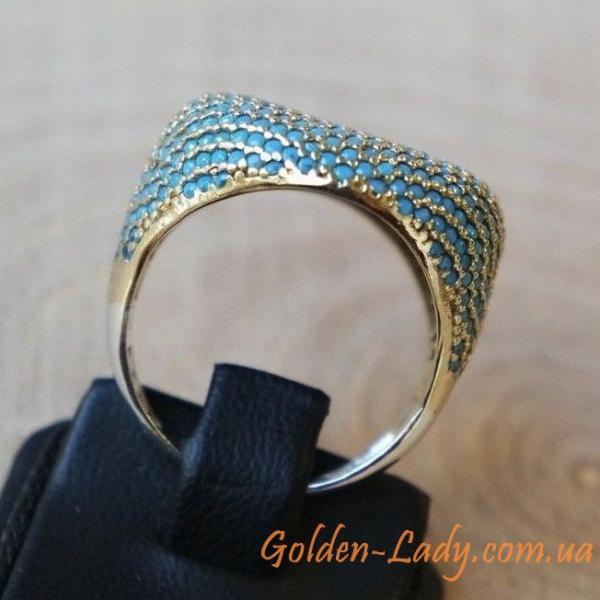 красивое кольцо с бирюзой для мужчин