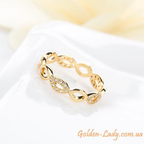 кольцо в виде плетения